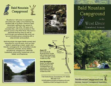Bald Mountain Campground Brochure