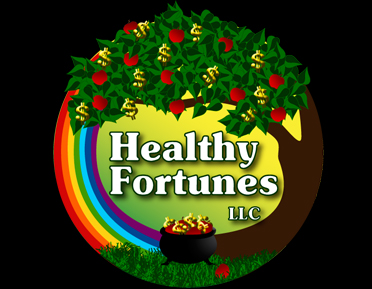 Healthy Fortunes Logo Design title=